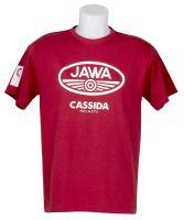 triko JAWA (červená) XL