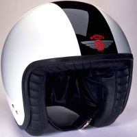 Davida Jet TT černá/bílá L