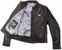 Moto Morini kožená bunda černá 52
