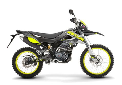 DSR_125_EX_2021 Restyling EX - White Black Yellow Side