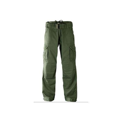 textilni-kalhoty-john-doe-kevlar-kapsove-zelene
